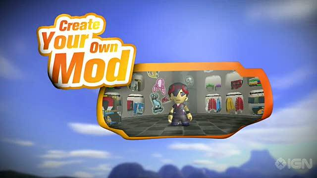 ModNation Racers Sony PSP Trailer - PSP Announcement Trailer