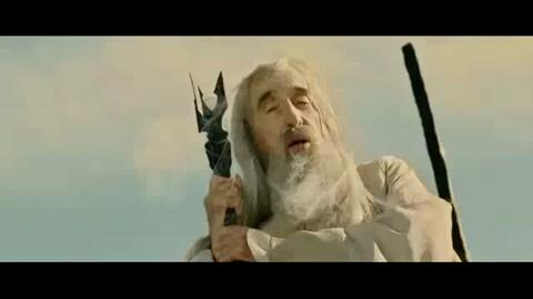 The Lord of the Rings The Return of the King - Approaching Saruman