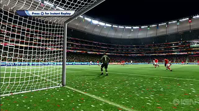 2010 FIFA World Cup South Africa Xbox 360 Gameplay - USA vs. England Goal 4