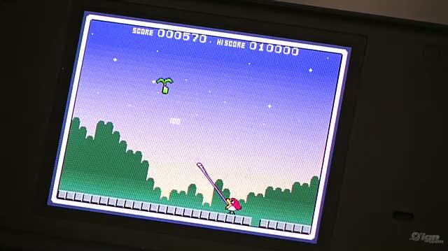Bird & Beans Nintendo DS Gameplay - GDC 09 Fruit (Off-Screen)