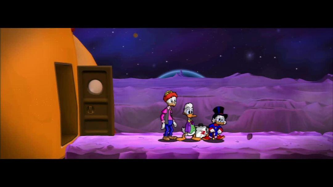 Ducktales Remastered - Moon Postcard Trailer
