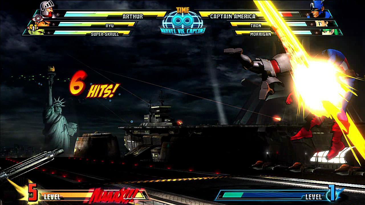 Marvel vs. Capcom 3 Sir Arthur Gameplay