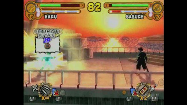 Naruto Ultimate Ninja 3 PlayStation 2 Trailer - Sasuke