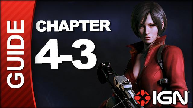 *SPOILERS* Resident Evil 6 Ada Wong Campaign Walkthrough - Chapter 4 pt 3