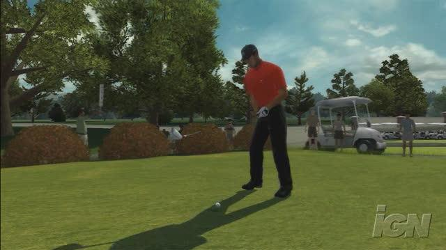 Tiger Woods PGA Tour 08 Xbox 360 Gameplay - The Drive (HD)