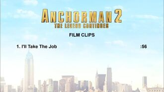 "Anchorman 2 - ""I'll Take The Job"" Clip"