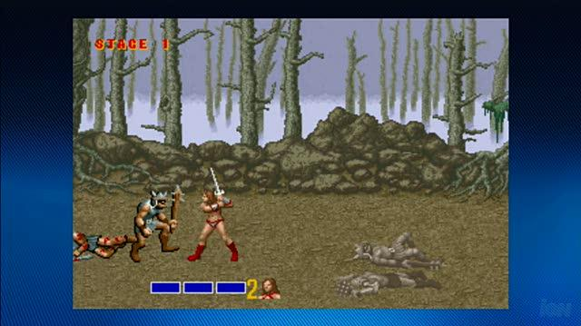 Golden Axe Xbox Live Gameplay - Axe Attack (HD)