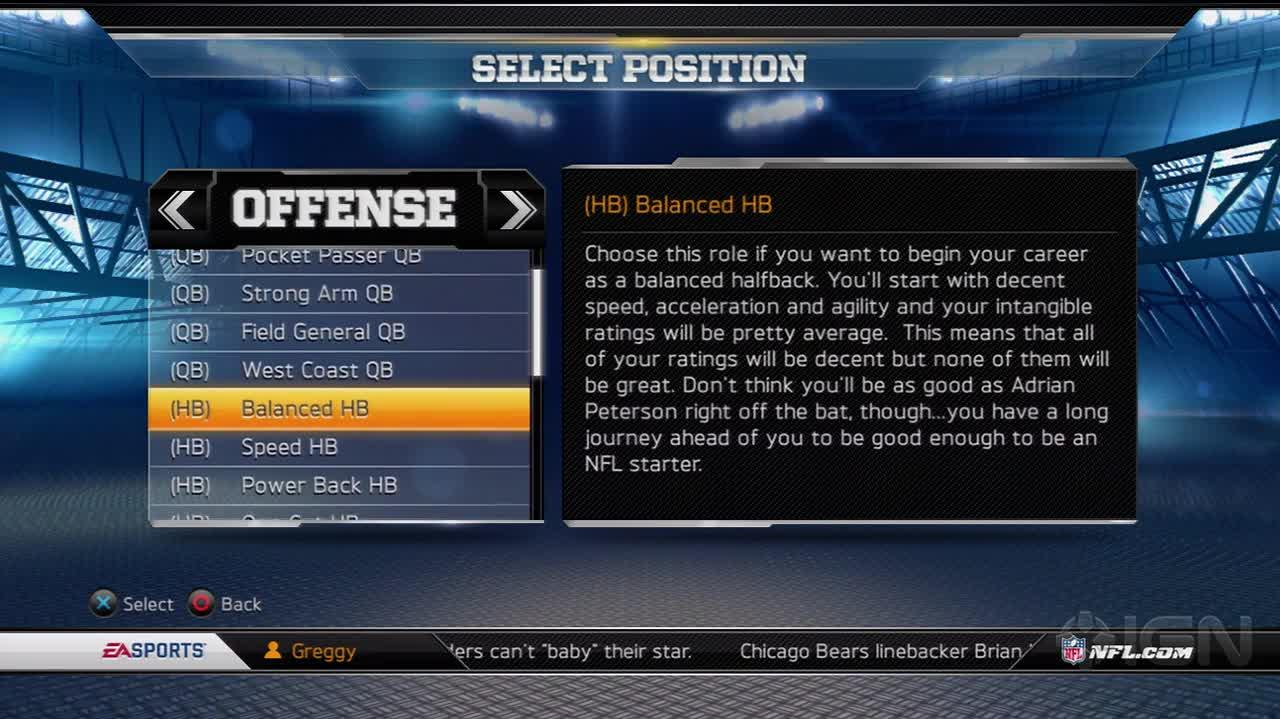 Madden NFL 13 Connected Careers 101