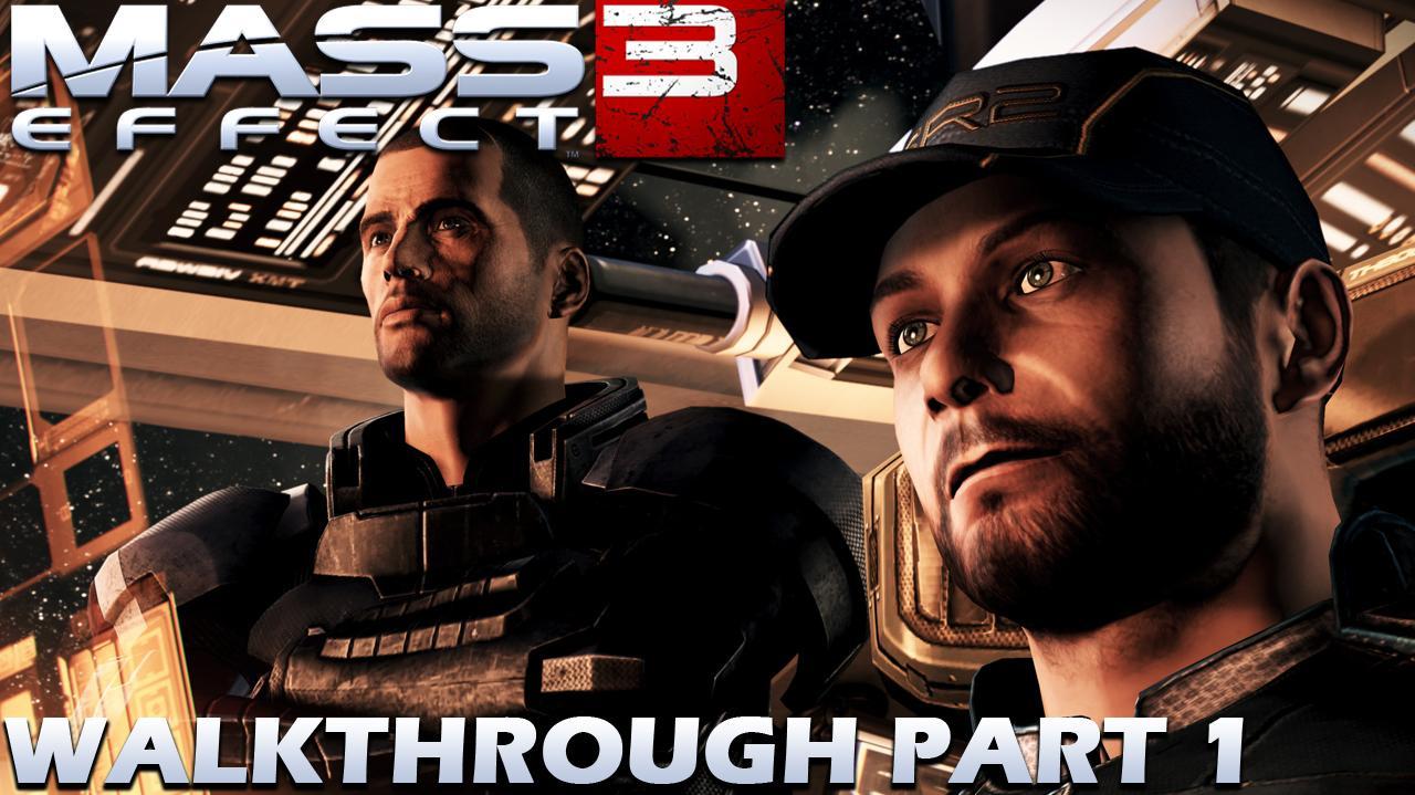 Mass Effect 3 Walkthrough Part 1 (Demo)