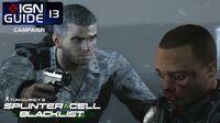 Splinter Cell Blacklist Perfectionist Walkthrough Part 13 - Site F