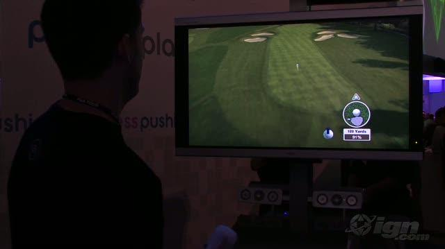 Tiger Woods PGA Tour 10 Nintendo Wii Gameplay - E3 2009 Par For The Course (Off Screen)
