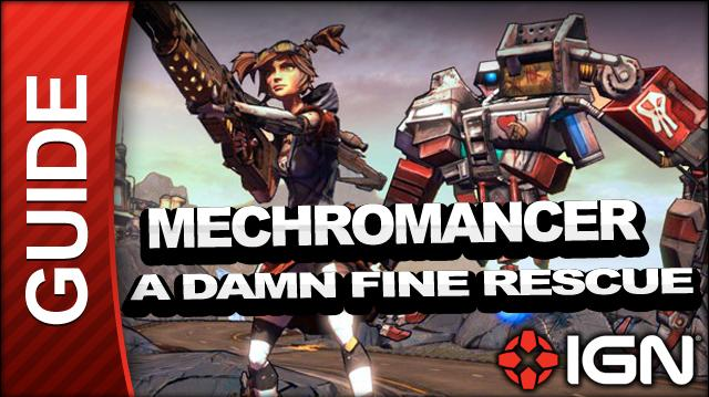 Borderlands 2 Mechromancer Walkthrough - A Dam Fine Rescue - Part 6a