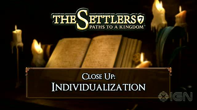 The Settlers 7 Paths to a Kingdom PC Games Trailer - Customization Trailer