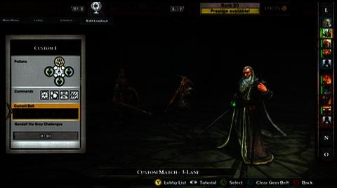 Guardians of Middle-Earth (VG) (2012) - WBIE - Guardians of Middle-Earth MOBA Mastery Part 4 - Loudouts