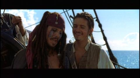 Pirates of the Caribbean Dead Man's Chest (2006) - Clip Blooper 4 - 30