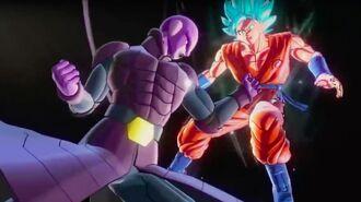 Dragon Ball Xenoverse 2 Official Hit vs. SSGSS Goku Gameplay Trailer