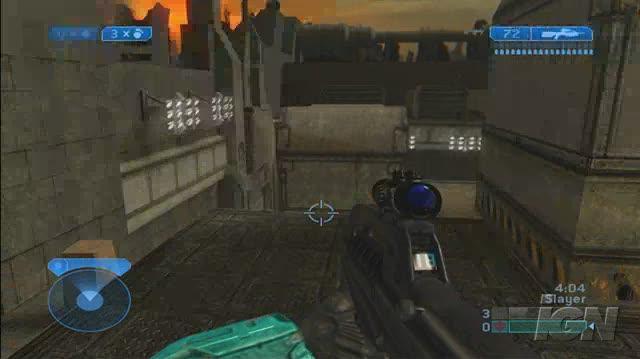 Halo 2 Xbox Gameplay - Tombstone Really Hurts