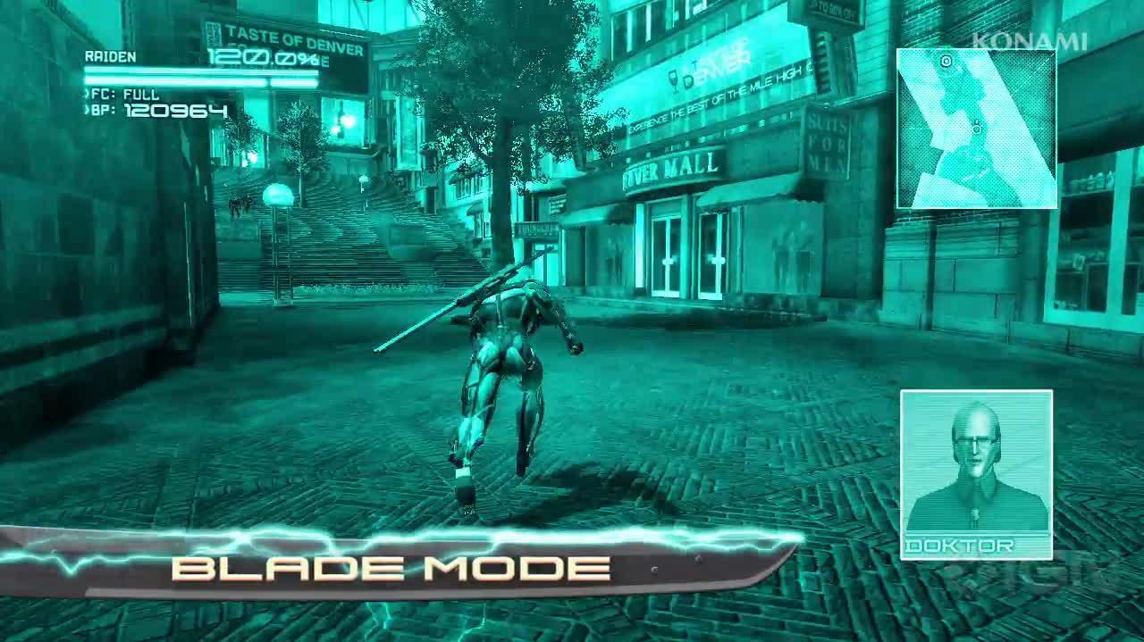 Metal Gear Rising Revengeance - Suit Overview