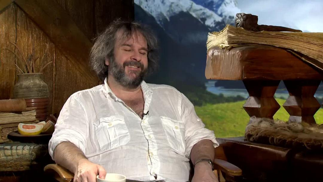 The Hobbit The Desolation of Smaug - Peter Jackson Interview Part 2