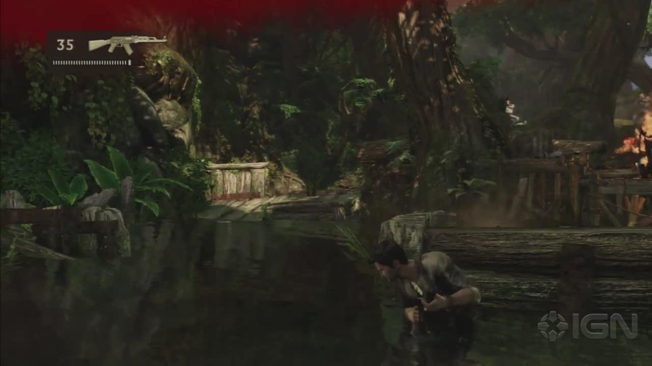 Uncharted 2 - Borneo Part 2 - Gameplay