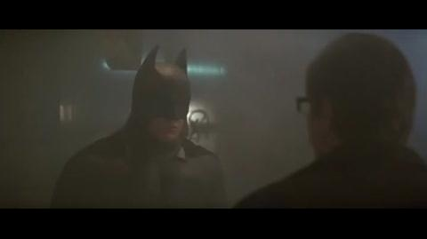 Batman Begins - Batman comes to Gordon's aid