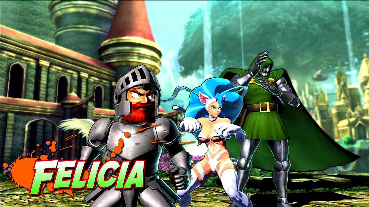 Marvel vs. Capcom 3 Felicia Gameplay