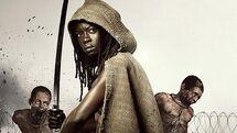 NYCC The Walking Dead - David Morrissey and Danai Gurira