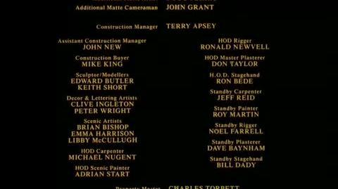 Batman - closing credits 1 Part 2