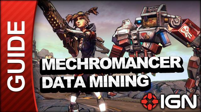 Borderlands 2 Mechromancer Walkthrough - Data Mining - Part 15a