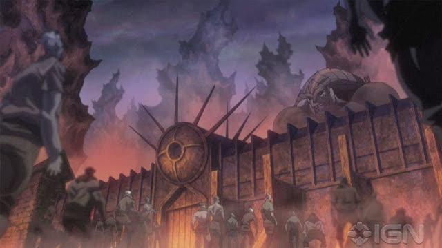 Dante's Inferno An Animated Epic DVD Clip - City of Dispair