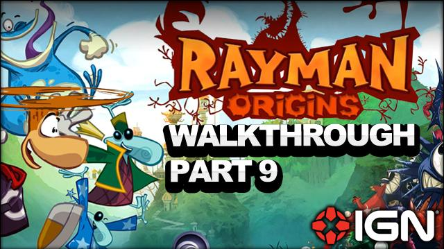 Rayman Origins Walkthrough - Desert of Dijiridoos Best Original Score (Part 9)