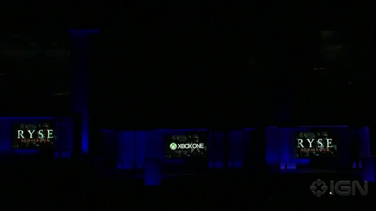 Ryse - Gameplay Demo - E3 2013 Microsoft Conference