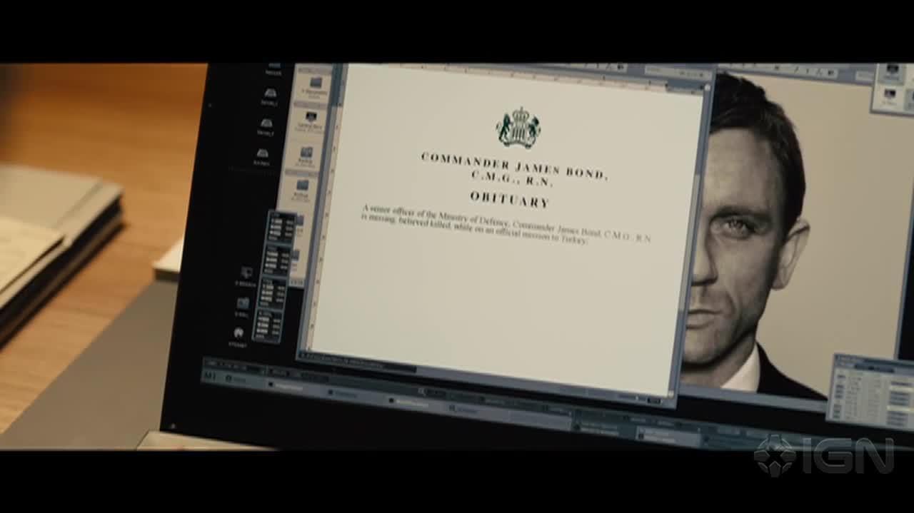 Skyfall Adele Trailer