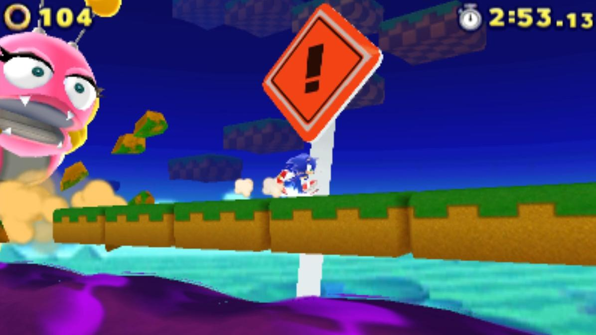 Sonic Lost Worlds Windy Hill Zone 1 Gameplay