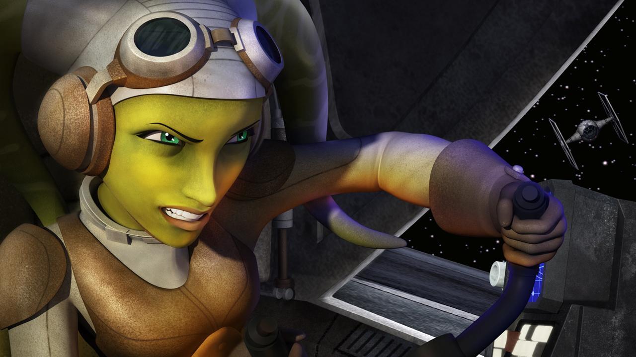 Star Wars Rebels - Introducing Hera