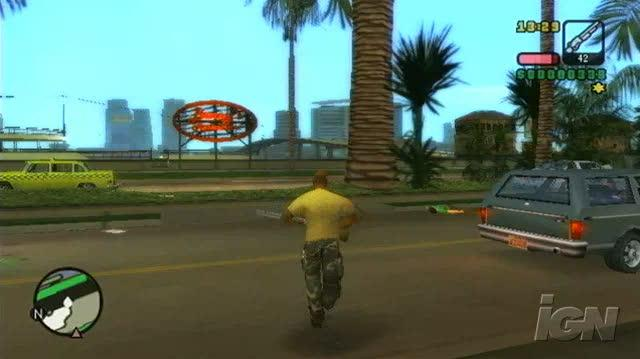 Grand Theft Auto Vice City Stories PlayStation 2 Gameplay - Get Outta Here