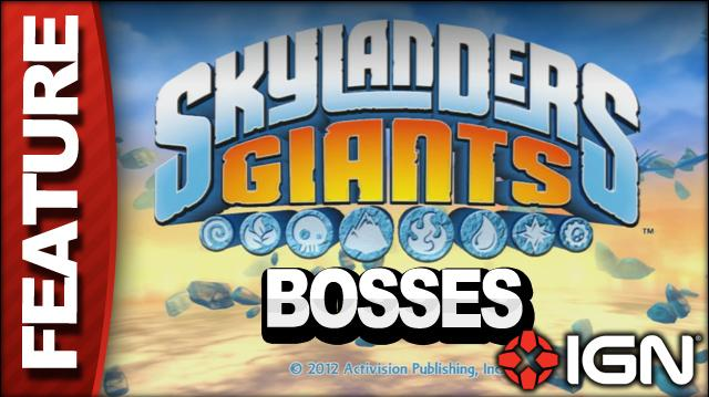 Skylanders Giants Feature - Bosses Montage