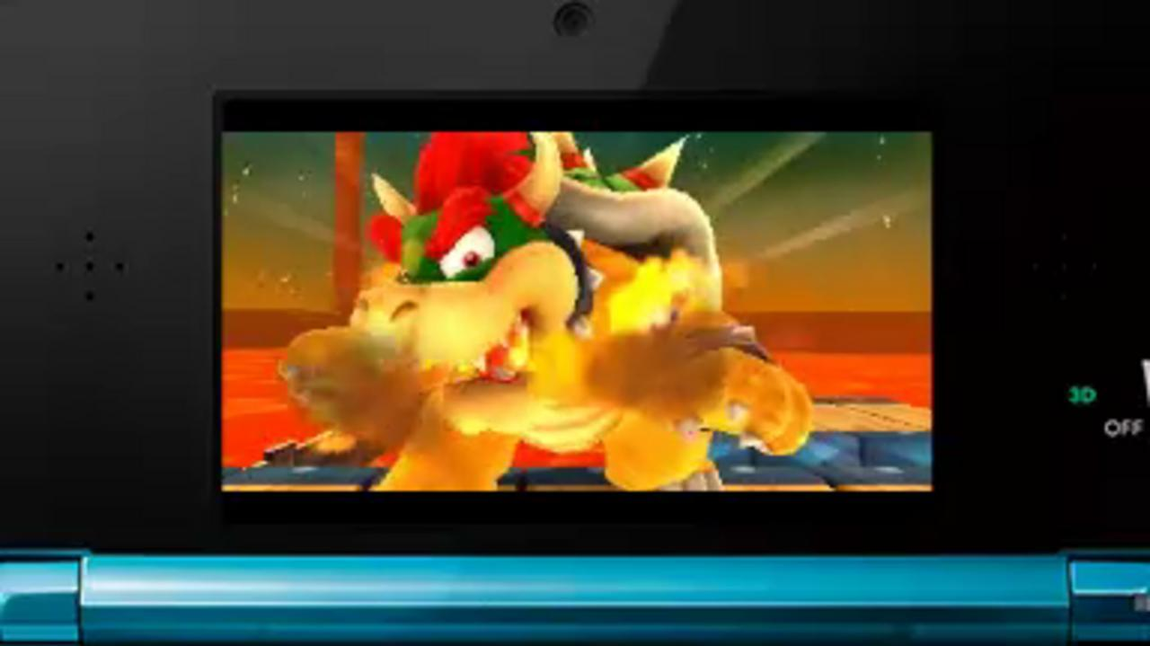 Super Mario 3D Land Battle with Bowser