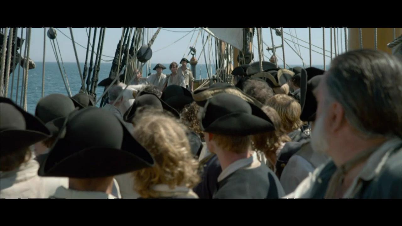 Captain Barbossa Rallies His Men