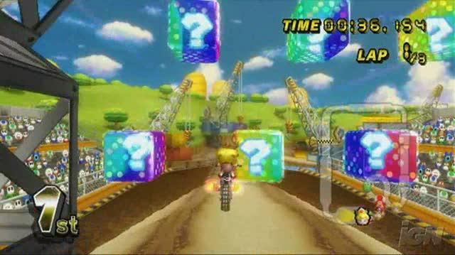 Mario Kart Wii Nintendo Wii Video - Mushroom Cup (480p)