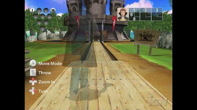 AMF Bowling World Lanes Nintendo Wii Gameplay