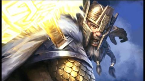 Guardians of Middle-Earth (VG) (2012) - WBIE - GOME Battle Profiles Thrain & Gothmog