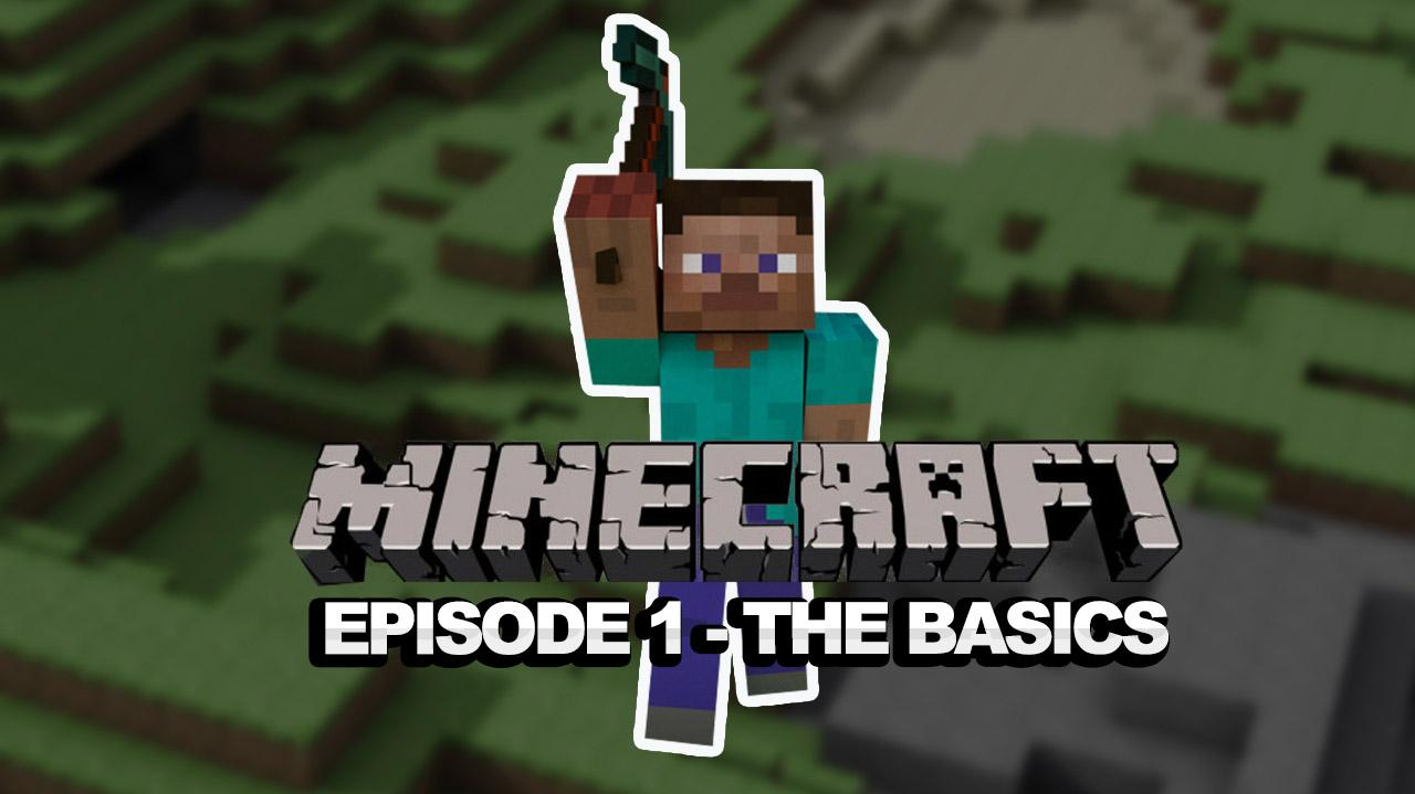 Let's Play Minecraft Episode 1 with Destin and Justin - Pickaxes, Shelter, Torches, and Respawning