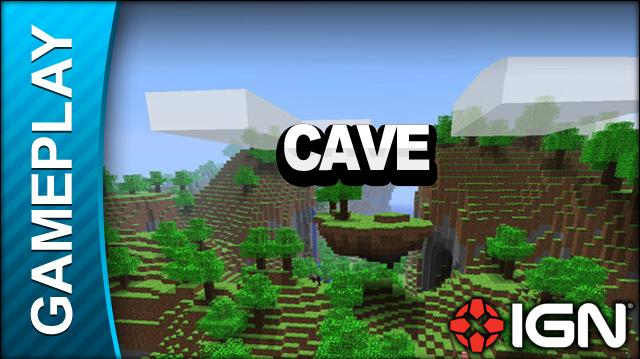 Minecraft - Cave - Gameplay