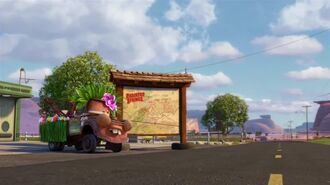 "Radiator Springs 500 1 2 - ""Bailey"" Clip"