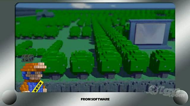 3D Dot Game Heroes PlayStation 3 Trailer - Japanese Trailer