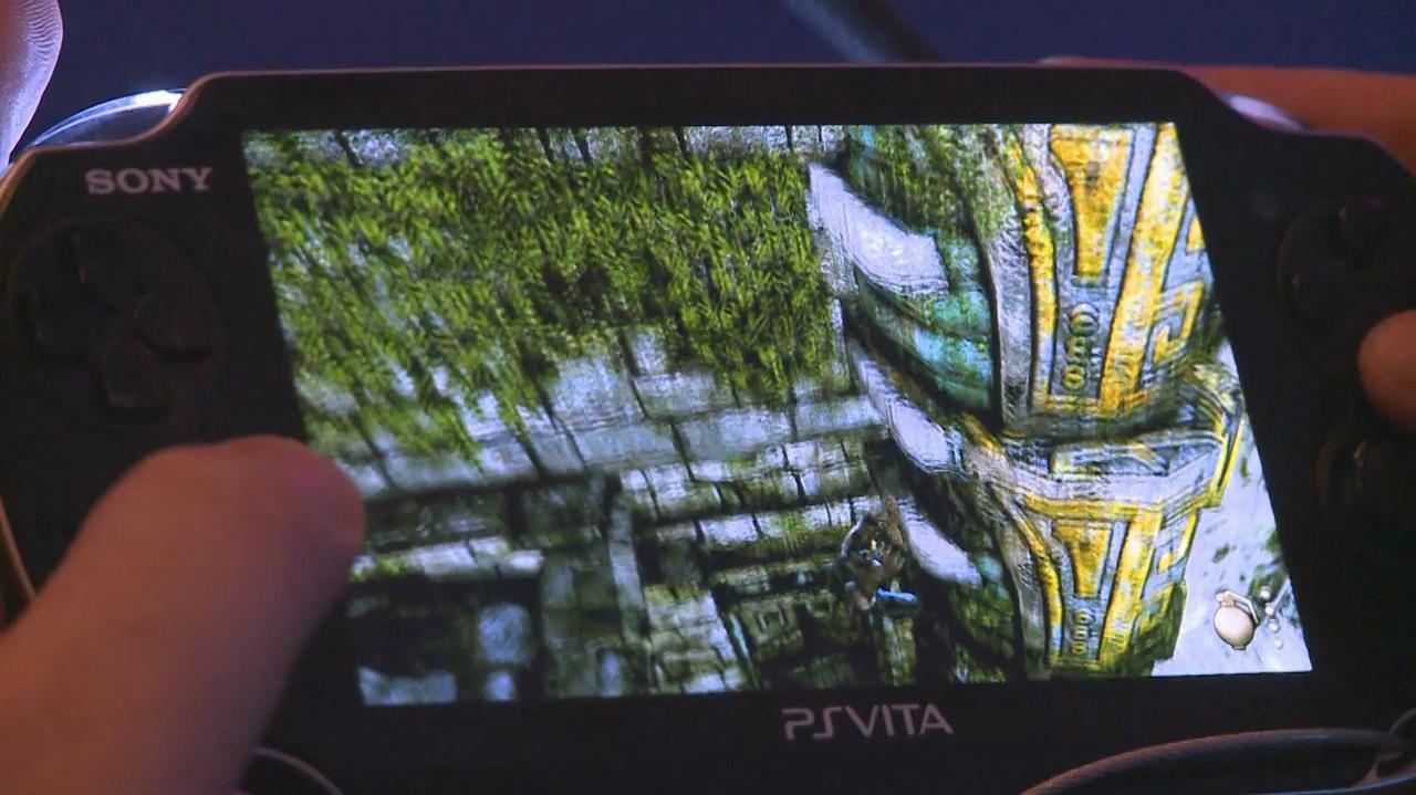 Gamescom Uncharted Vita Gameplay