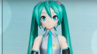 Hatsune Miku Project Diva X Official Help Restore Light Trailer