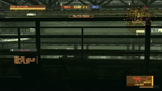 Metal Gear Online PlayStation 3 Gameplay - The Frog Is Mine