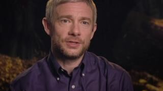 The Hobbit Battle Of The Five Armies Martin Freeman On Ian As Gandalf